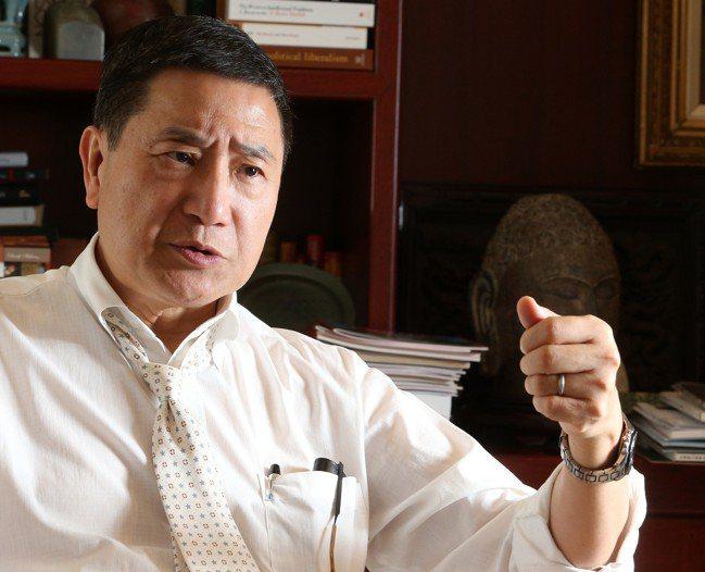台泥董事長張安平。 報系資料照