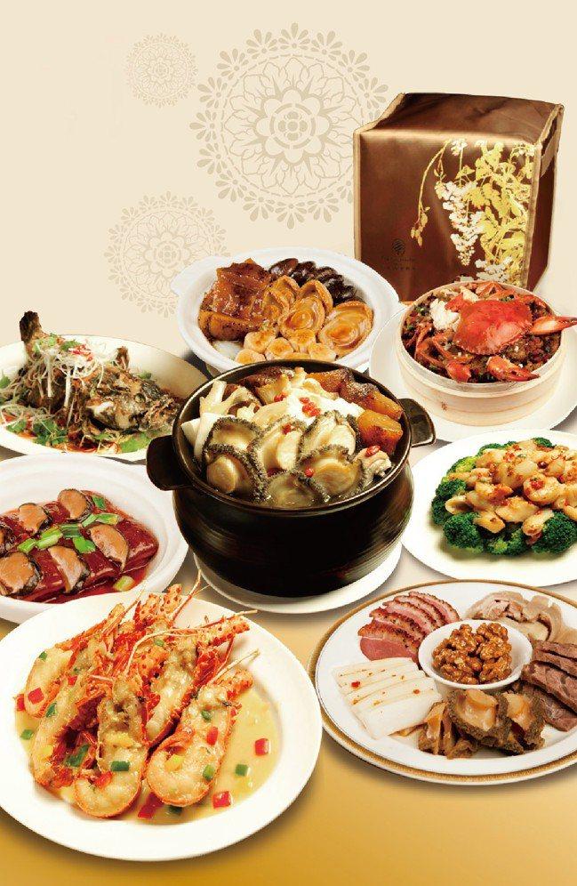 劉恆昌的家族年菜,鮑魚佛跳牆是主角。 圖/西華飯店提供