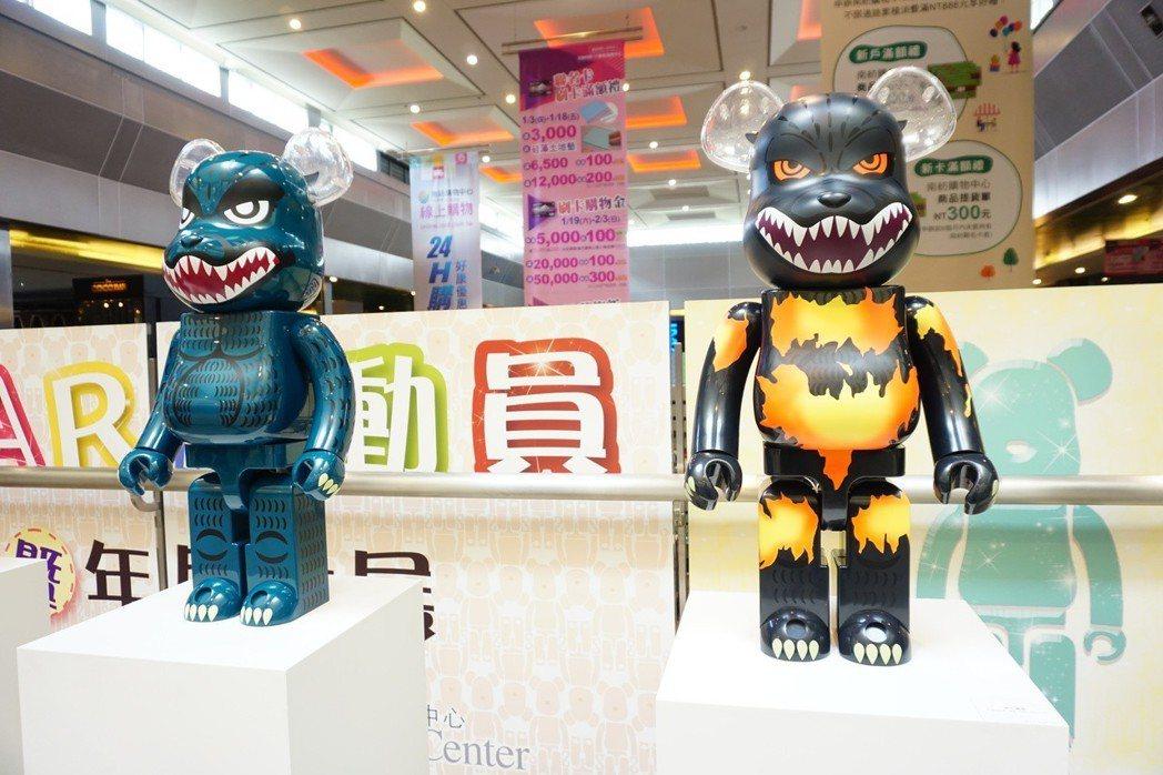 南紡購物中心五樓夢想舞台的「KU BEAR總動員 20年收藏暨年度大展」. 業者...