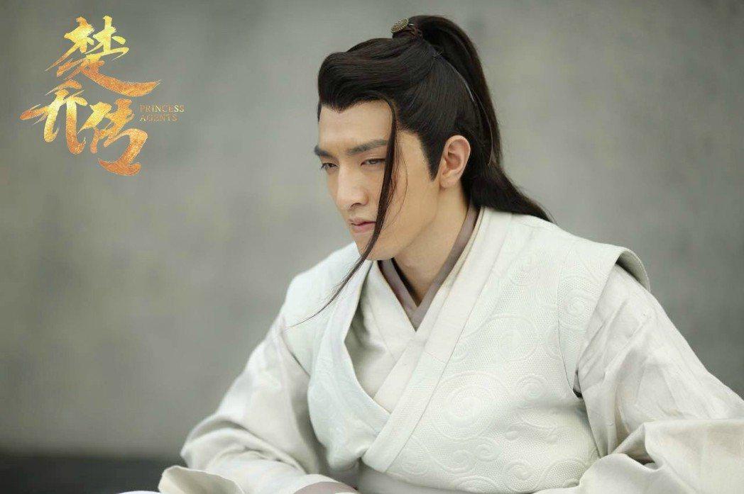 金瀚在「楚喬傳」中飾演「趙西風」。圖/擷自微博