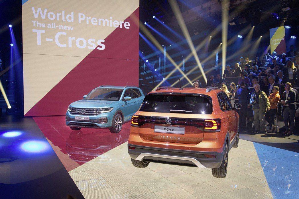 全新Volkswagen T-Cross於2018年10月正式發表。 摘自Vol...