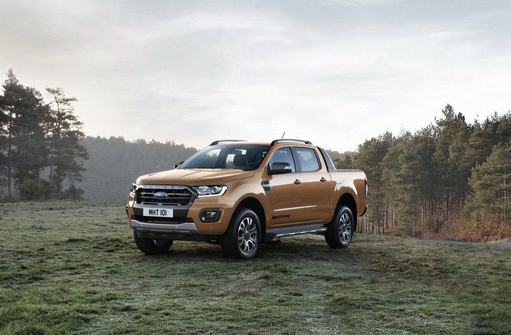 小改後的Ford Ranger新增了一具2.0升四缸EcoBlue柴油引擎,搭配...