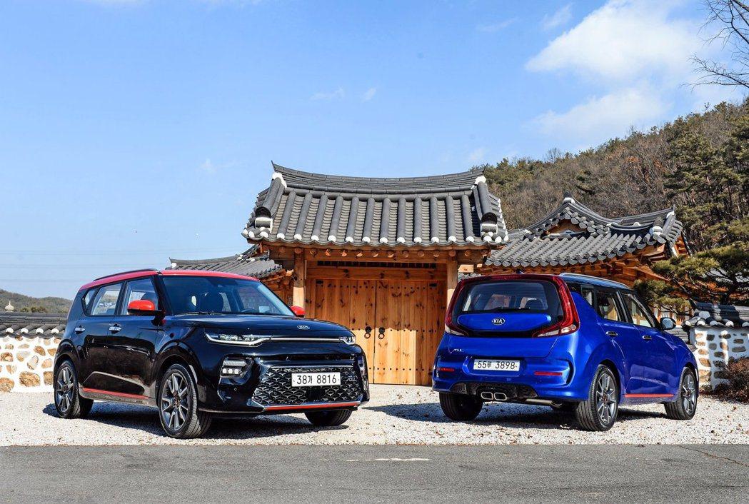 全新韓版Kia Soul Booster目前僅提供GT-Line車型。 摘自Ki...