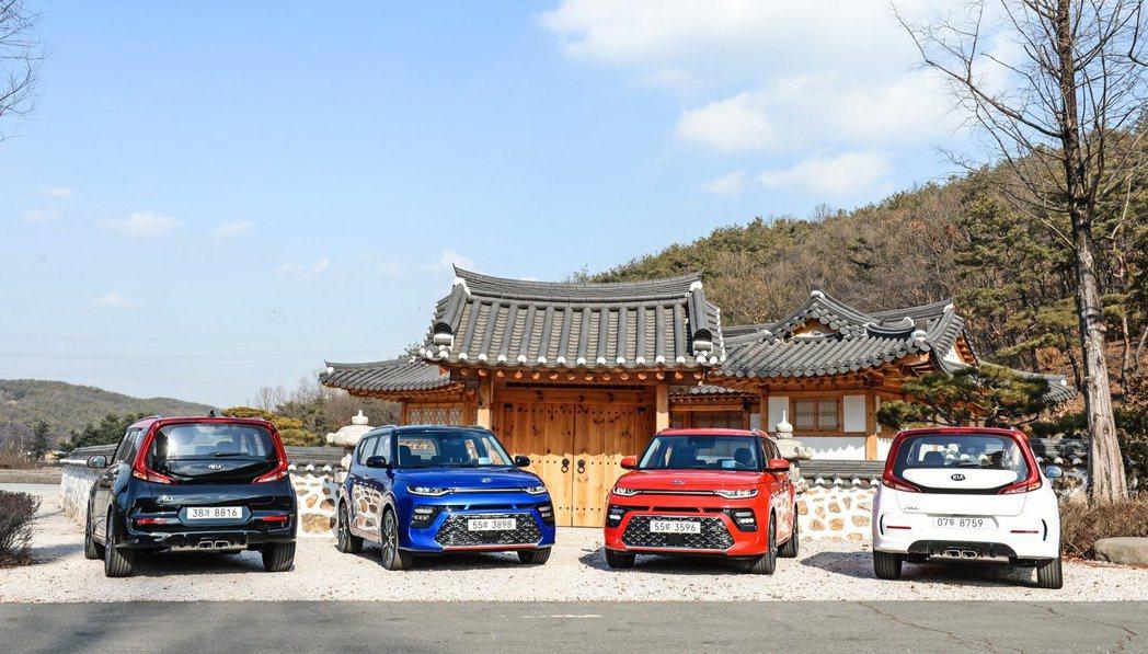 全新Kia Soul Booster已於韓國正式發售。 摘自Kia