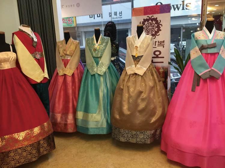 圖/選擇租賃韓服,不僅每次都可以穿到不同花色及最新款式,還不會佔衣櫃空間。/臺灣...