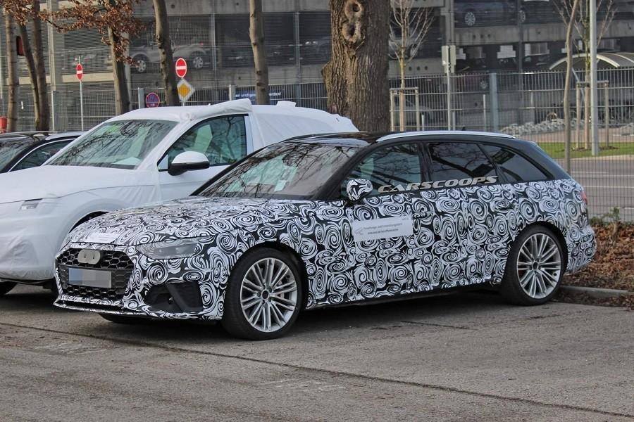 小改款Audi S4 Avant測試捕獲 更有RS4的味道