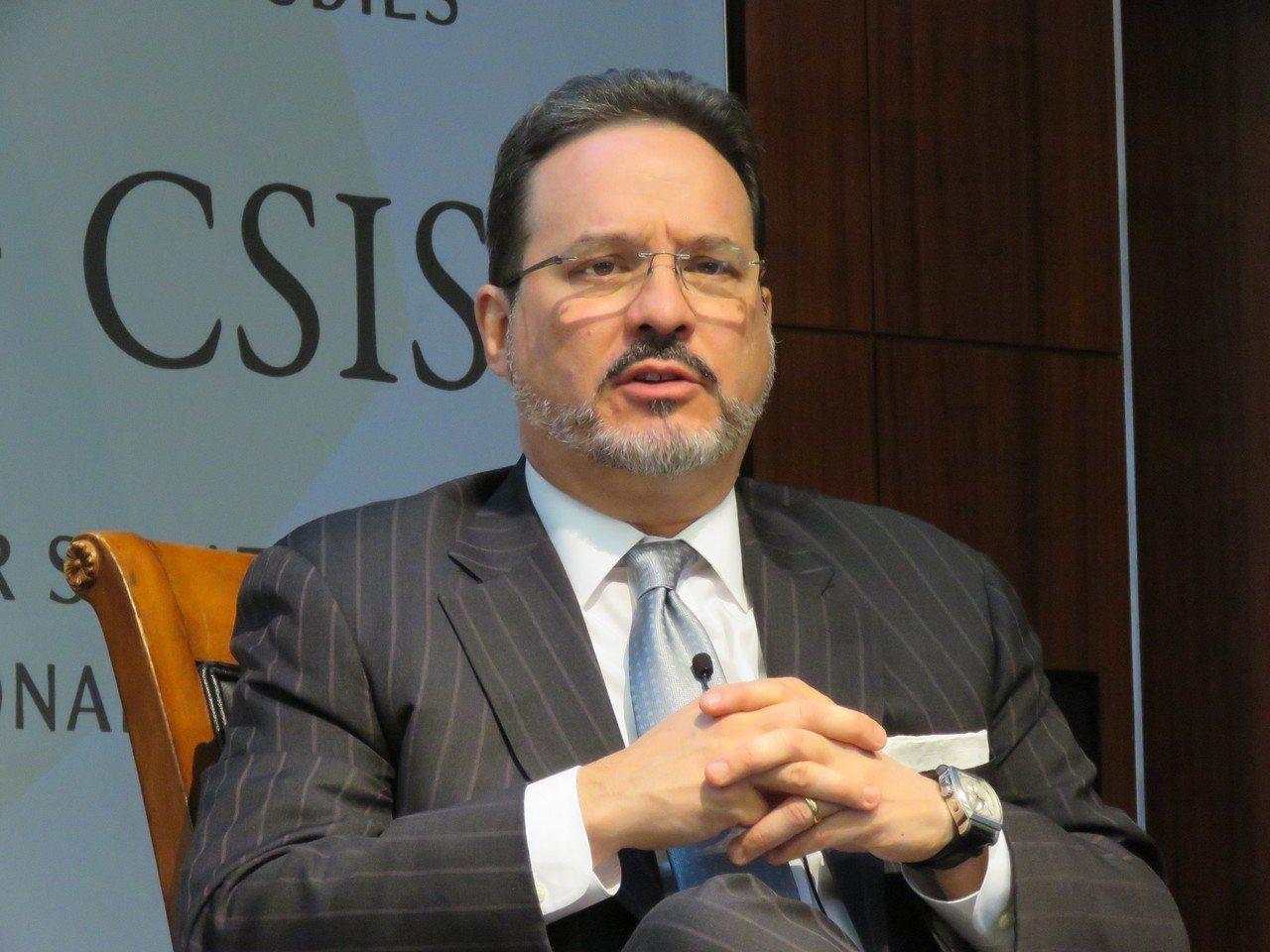 美國國安會前亞洲事務資深主任葛林。報系資料照片/華盛頓記者張加攝