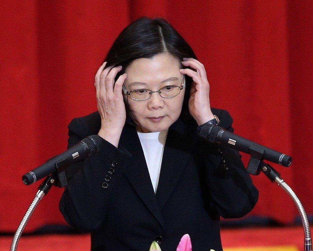 蔡總統:台灣不會放棄持續爭取國際空間