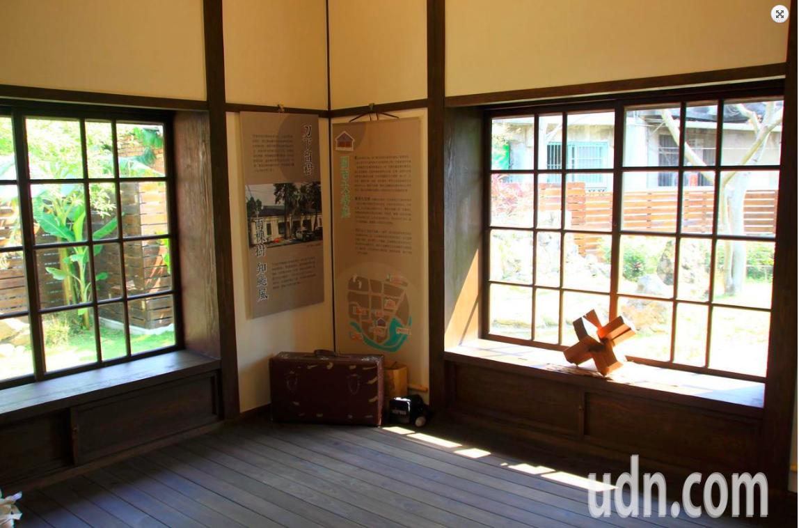新竹縣關西所長宿舍是縣級古蹟,日式風格的宿舍展現當年的所長位階。記者郭政芬/攝影