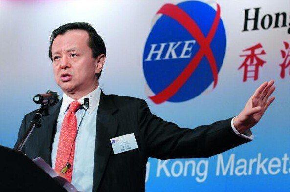 港交所行政總裁李小加。(香港商報)