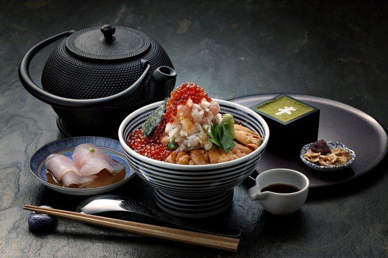 日本橋海鮮丼つじ半(Tsujihan)將於農曆春節期間,推出「金醇美饌賀新年」活動。圖/日本橋海鮮丼つじ半提供