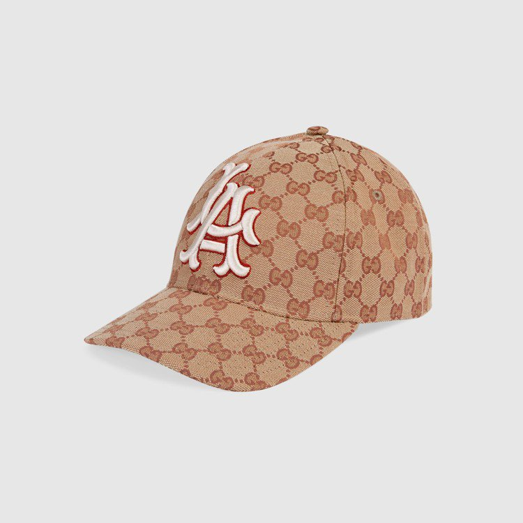 LA Angels™洛杉磯天使隊貼飾棒球帽,18,300元。圖/Gucci提供