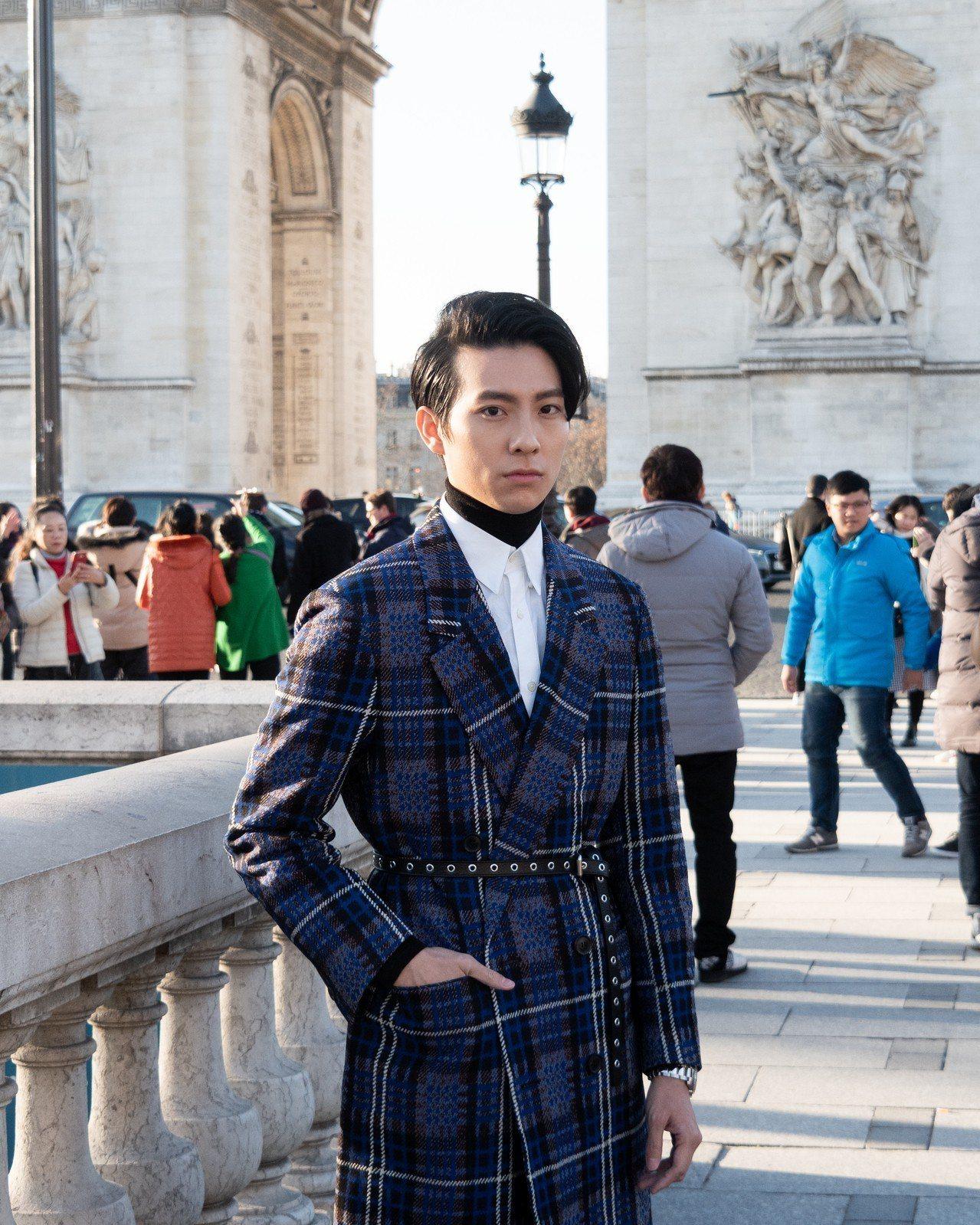 彭千祐首次造訪巴黎男裝周,很好奇也很興奮,覺得不管是參加時裝周的人或是巴黎的路人...