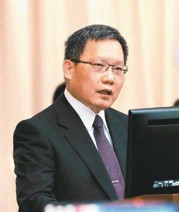財政部長蘇建榮。 圖/聯合報系資料照片