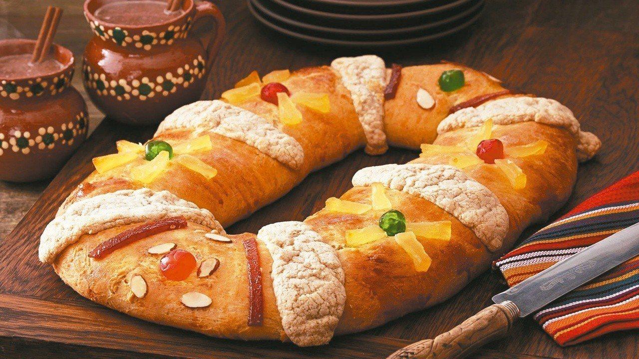 三王節應景的食物--國王蛋糕。 照片提供/McCormick