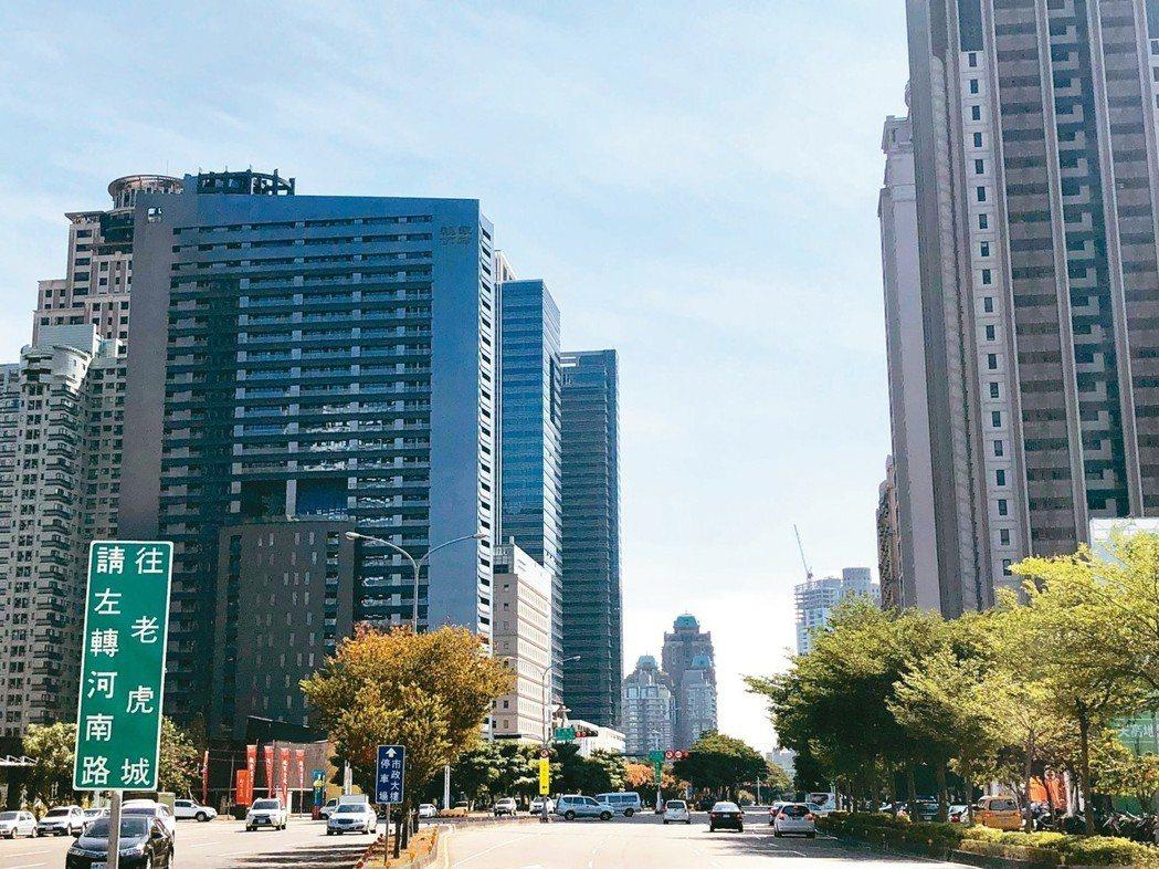 豐邑建設以每坪266.7萬元、總價66.5億元,購入七期市政路、河南路口2,49...