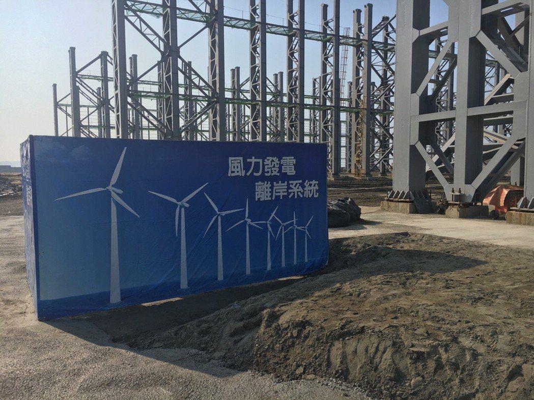 世紀集團位於台北港的離岸風電水下基礎廠房 記者李娟萍/攝影
