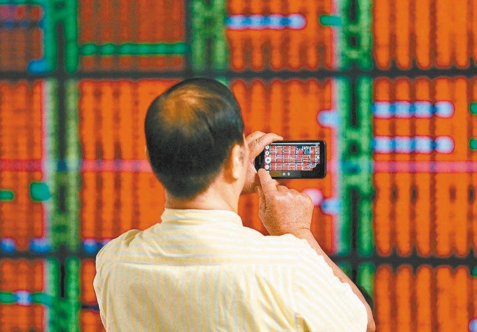 加權股價指數本週大漲133.55點。 聯合報系資料照