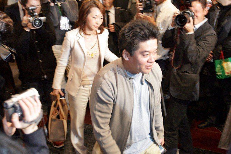 年輕又有實力的堀江貴文,迅速成為日本新創事業的焦點。 圖/美聯社