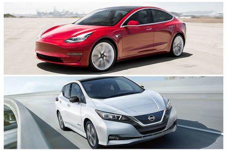 Tesla Model 3來勢洶洶!Nissan Leaf今年還能守住歐洲最暢銷電動車寶座嗎?