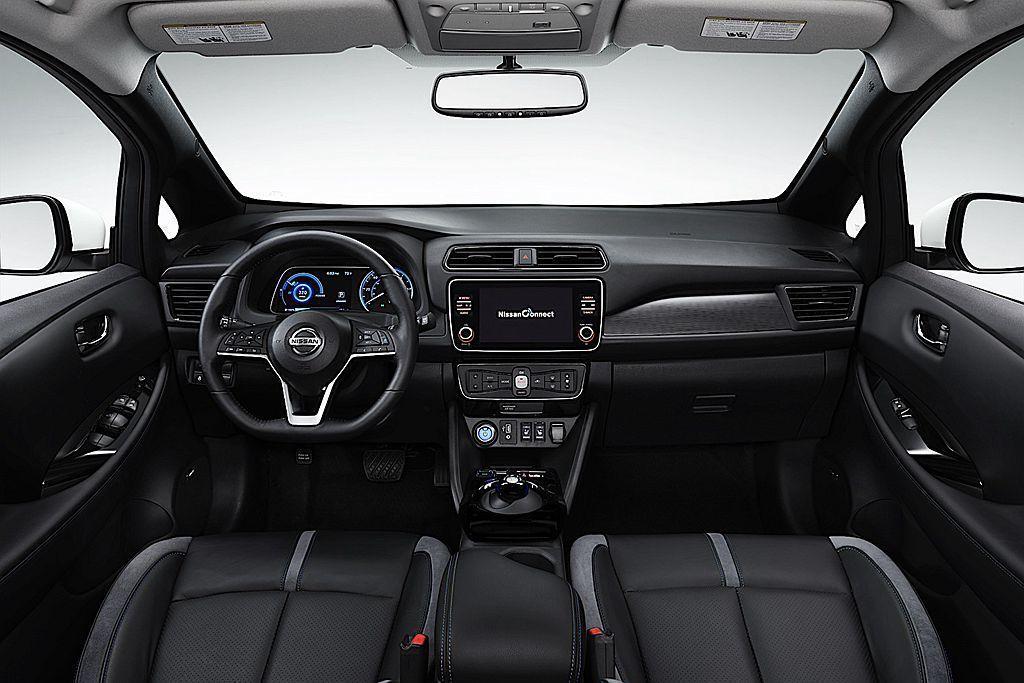 Nissan Leaf 3.ZERO將控台8吋影音訊息顯示螢幕(附導航功能)、N...