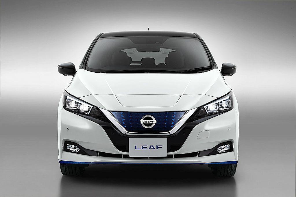 Nissan Leaf。 圖/Nissan提供