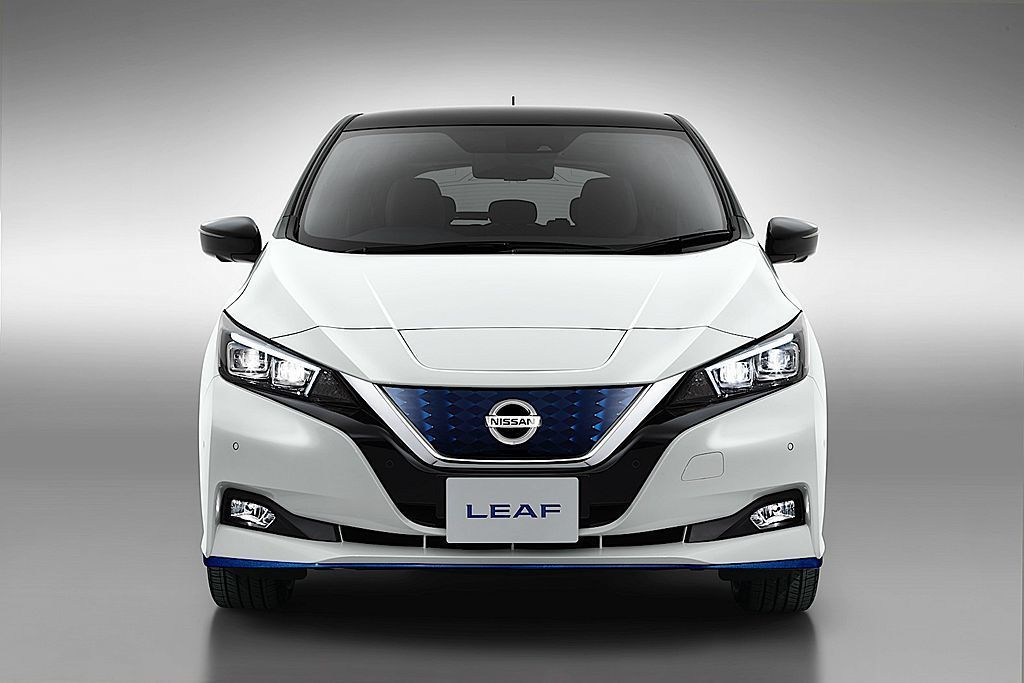 Nissan Leaf去年在歐洲市場賣出超過40,000輛的Nissan Lea...