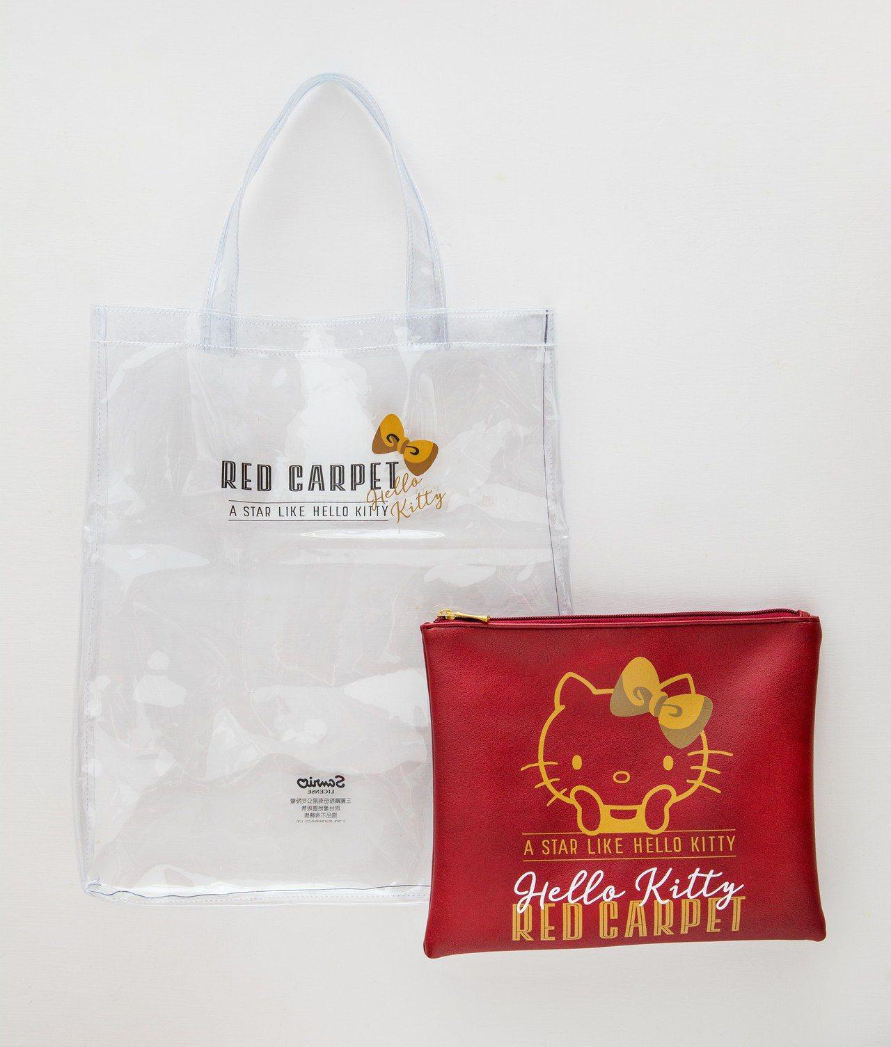 周年慶套餐送的Red Carpet透明袋中袋。圖/威秀影城提供