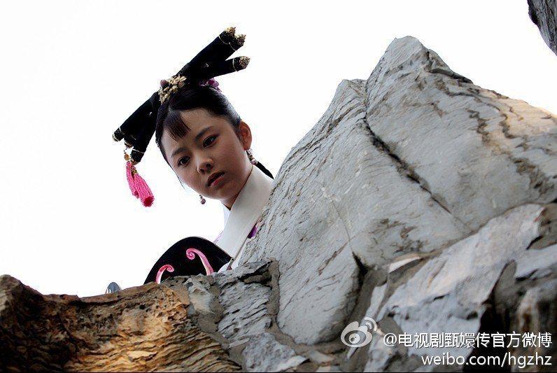 譚松韻在「後宮甄嬛傳」飾演淳貴人。圖/擷自微博