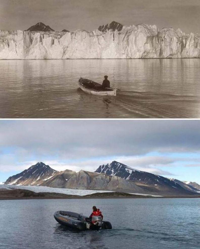 北極的地景變化。圖/遠見提供