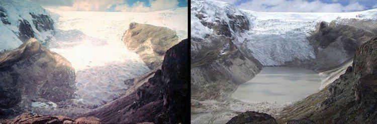 秘魯冰川變化。圖/遠見提供