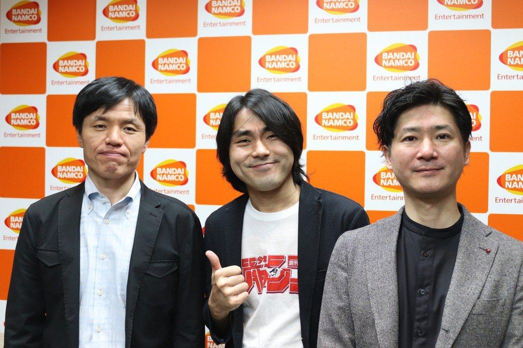金子裕幸、中島光司、角谷佐壽。(從左至右)