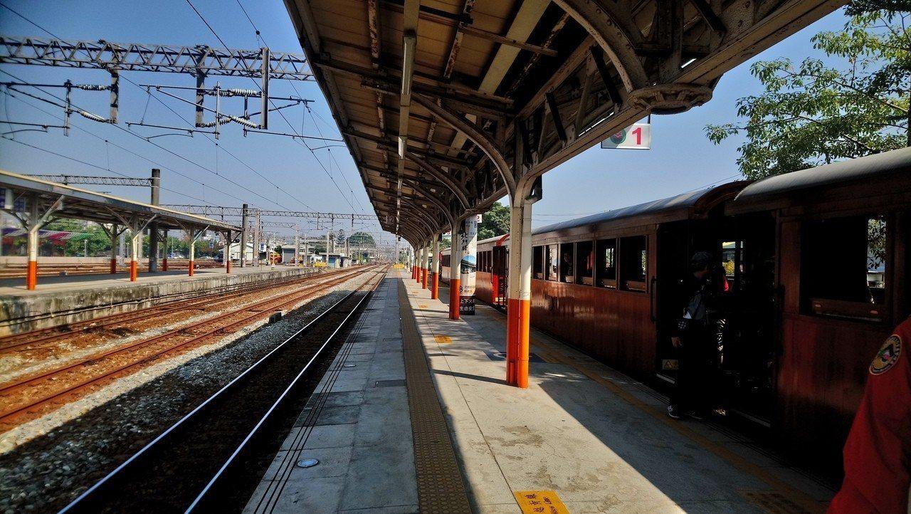 阿里山林鐵從嘉義到北門車站還有許多鮮為人知的歷史據點。。記者謝恩得/攝影