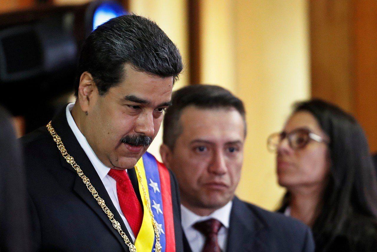 委內瑞拉總統馬杜洛24日出席最高法院的一項儀式。路透