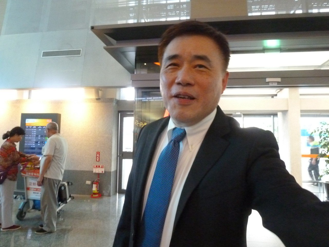 國民黨副主席郝龍斌。聯合報系記者周志豪/攝影