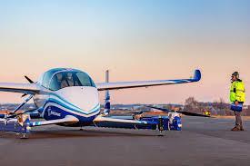 美國波音公司一架用來載客的空中飛車22日完成首次試飛。取自波音官網