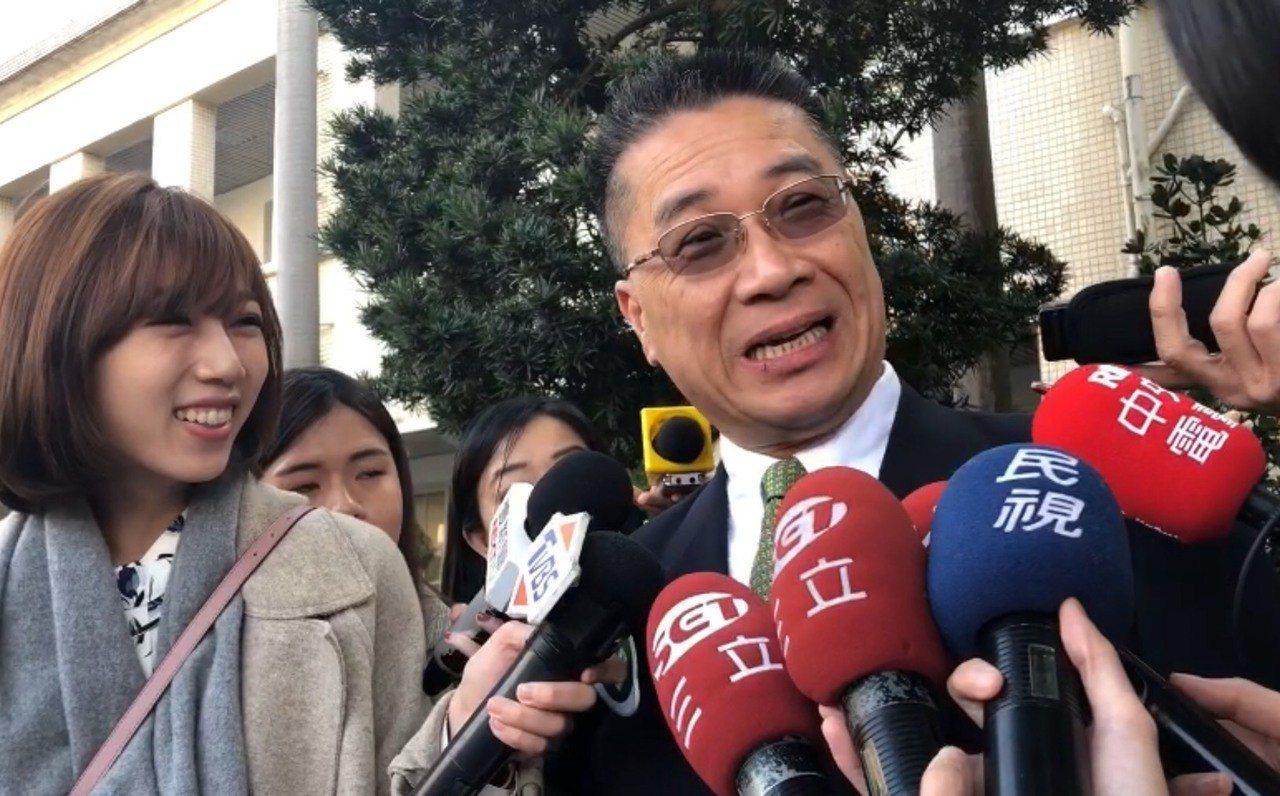 內政部長徐國勇指出,春節期間他也不會休假。記者李承穎/攝影