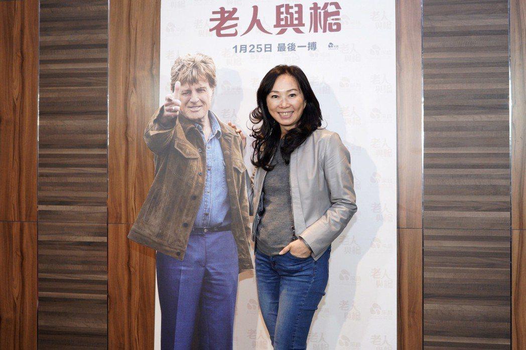 高雄市長韓國瑜的夫人李佳芬(右)是勞勃瑞福的粉絲。圖/采昌國際提供