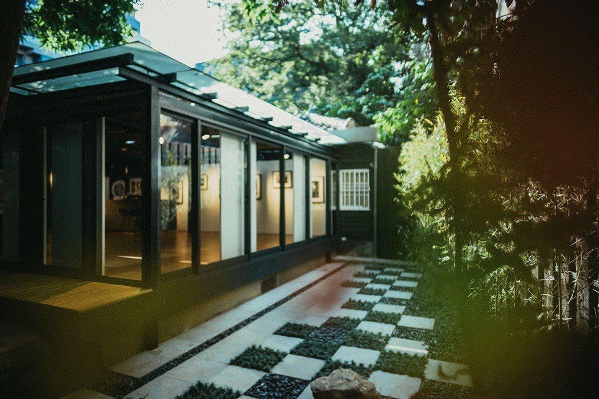 台北徠卡之家戶外庭院區。圖/徠卡提供