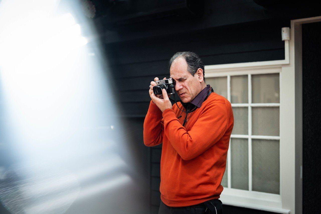 馬格蘭攝影師 Patrick Zachmann 於台北徠卡之家。圖/徠卡提供
