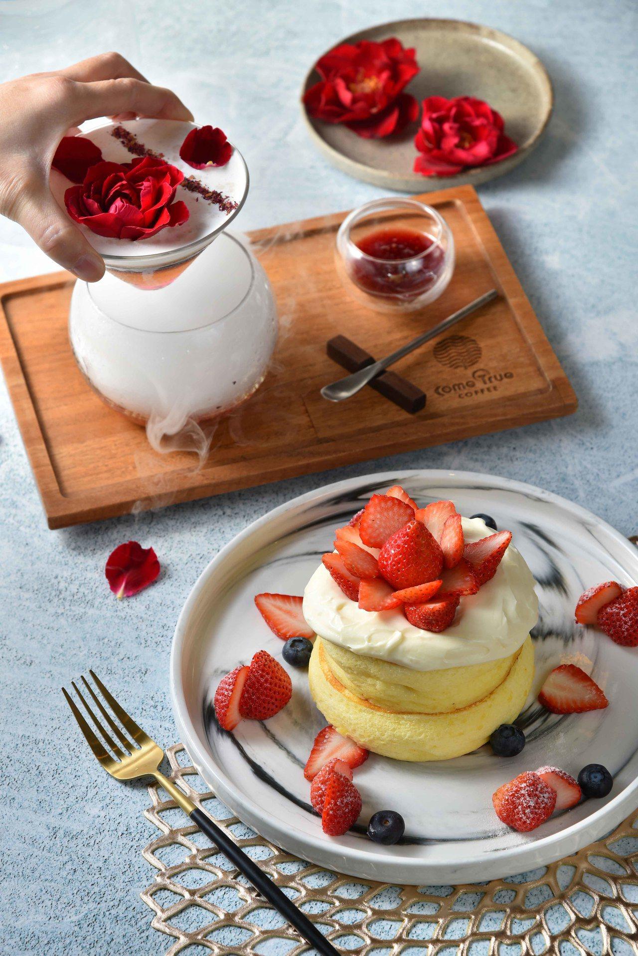 花漾組合花見雪莓+花漾瑰蜜售價478元。圖/SOGO提供