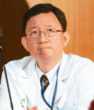 王明鉅醫師(台大醫院前副院長)。 圖/聯合報系資料照片