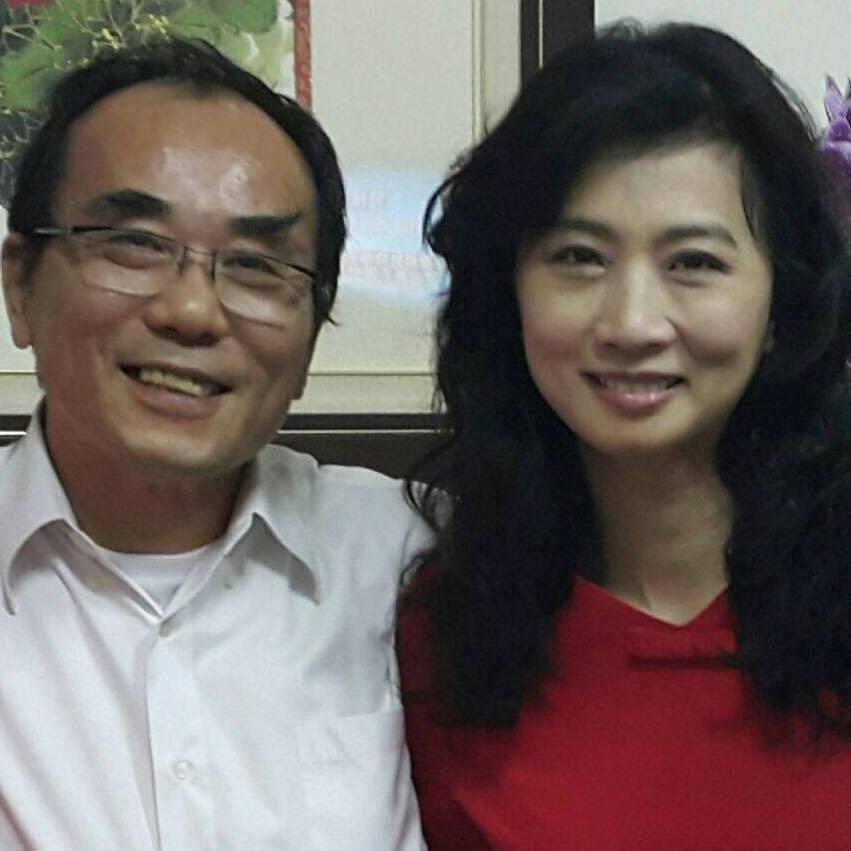 前立委蔡豪與宋麗華是屏東知名的政壇夫妻。圖/取自宋麗華臉書