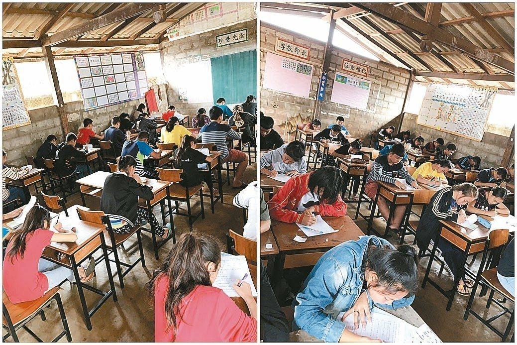 華興中學學生上課一景。 圖/華興中學提供