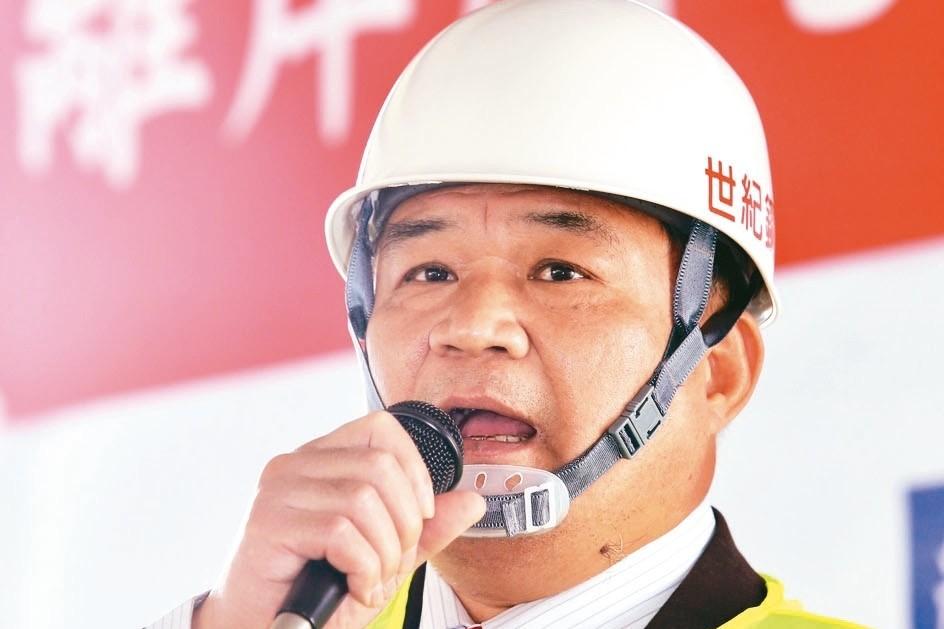 世紀鋼董事長賴文祥 記者林伯東/攝影