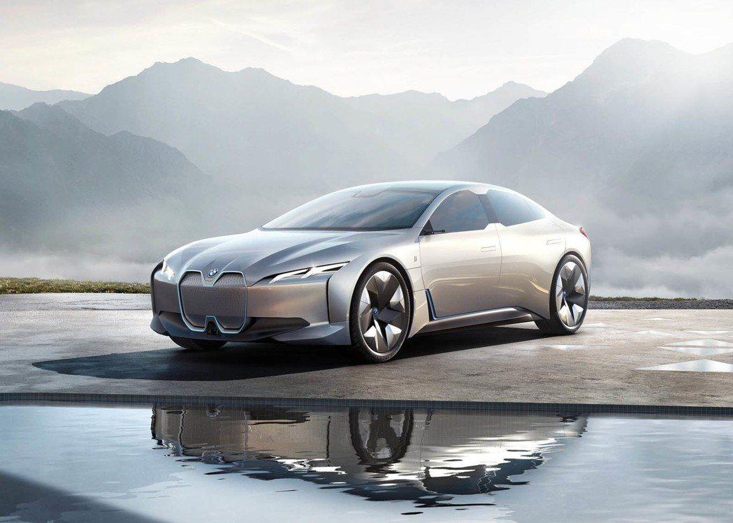 BMW i Vision Dynamics Concept。 摘自BMW