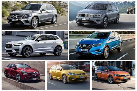平價、豪華最暢銷休旅寶座皆易主!2018歐洲新車銷售排行榜出爐