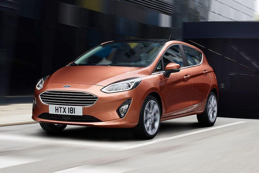 全新第七代Ford Fiesta以27.4萬輛銷售成績且銷售增長4.9%成績排名...