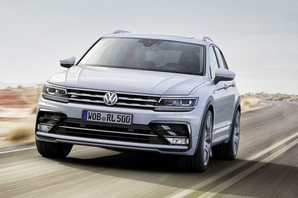 全球銷售表現亮眼的福斯Tiguan,去年也成為歐洲市場最熱銷的休旅車。 圖/Vo...