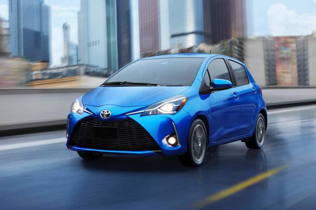 美規五門版Toyota Yaris去年在北美銷量下滑嚴重。 摘自Toyota